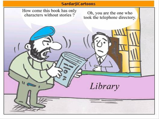 sardarji s jokes time and again
